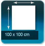 Affiches 100 x 100 cm