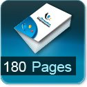 Tarif impression livre 180 Pages