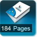 Tarif impression livre 184 Pages