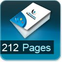 Tarif impression livre 212 Pages