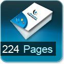 Tarif impression livre 224 Pages