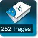 Tarif impression livre 252 Pages