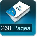 Tarif impression livre 268 Pages