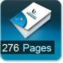 Tarif impression livre 276 Pages