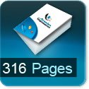 Tarif impression livre 316 Pages