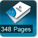 Tarif impression livre 348 Pages