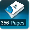 Tarif impression livre 356 Pages