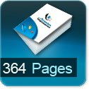 Tarif impression livre 364 Pages