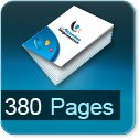 Tarif impression livre 380 Pages