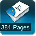 Tarif impression livre 384 Pages