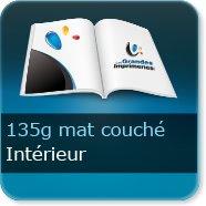 Livre Intérieur 135g Mat couché
