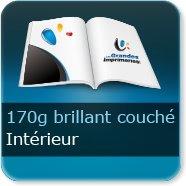 Livre Intérieur 170g brillant couché