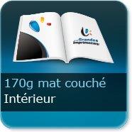 Livre Intérieur 170g mat couché