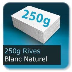 Menus 250g rives tradition blanc naturel