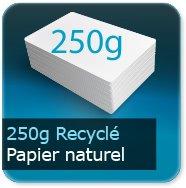 Flyers 250g Recyclé Blanc