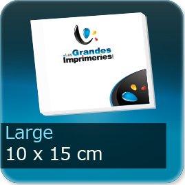 Bloc-note adhésif Large 100x150mm