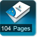 calculer le cout d impression pour brochure 104 pages