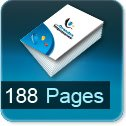 impression livret 188 pages