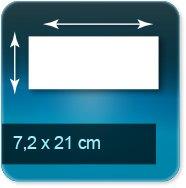 Autocollant & Étiquette 72 x 210 mm