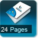 Brochure, catalogue, livret impression Numérique 24 pages