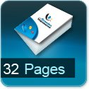 Imprimerie et Impression brochure et catalogue papier 32 pages