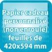 Papier cadeau 420x594mm