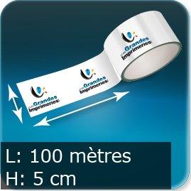 Ruban adhésif L 50mm / 100 mètres