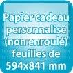 Papier cadeau 594x841mm