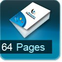 Imprimerie et Impression brochure et catalogue papier 64 pages