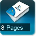 Imprimerie et Impression brochure et catalogue papier 8 pages