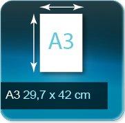 Liasse/Carnet autocopiant A3 297x420mm
