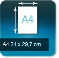 Liasse/Carnet autocopiant A4 210x297mm