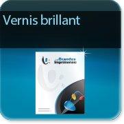 Autocollant & Étiquette Vernis brillant