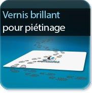 Autocollant & Étiquette Vernis pour piétinage 125 brillant
