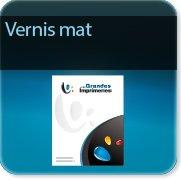 Autocollant & Étiquette Vernis mat