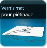Autocollant & Étiquette Vernis pour piétinage 125 mat