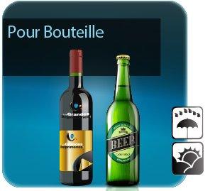 Autocollant & Étiquette Etiquettes pour bouteilles