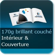 Brochures / Magazines 170g couché brillant