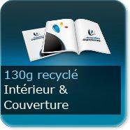 Brochures / Magazines 130g Recyclé cyclus blanc