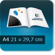 Brochures / Magazines A4 297x210mm