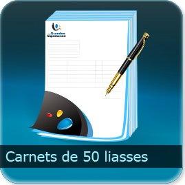 Liasse/Carnet autocopiant Carnet de 50 liasses