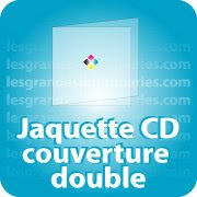 CD DVD Gravure & Packaging Jaquette CD Couverture double pliée