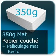 Chemises à rabats 350g mat + pell. Mat R°