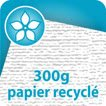Flyers 300g Recyclé cyclus blanc