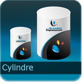 Dépliants / Plaquettes Cylindre