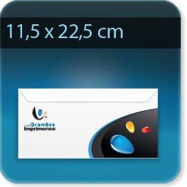 Enveloppes 115 X 225mm, Fermeture Patte gommée trapézoïdale, Forme universelle pour tous matériels