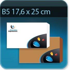 Enveloppes B5 176 X 250 mm , Fermeture Patte trapézoïdale autocollante avec bande de protection