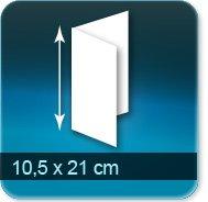 Pochette couvert addition serviette DL 100x210mm
