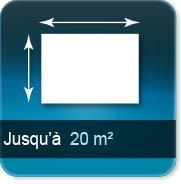 Autocollant & Étiquette jusqu à 20 m²