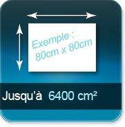 Autocollant & Étiquette jusqu à 6400 cm²